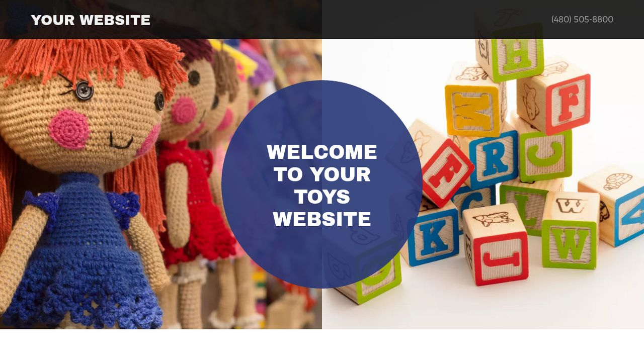 Toys Website: Example 13