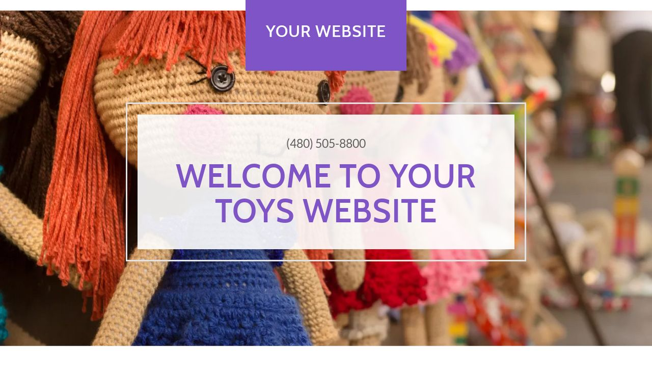 Toys Website: Example 18