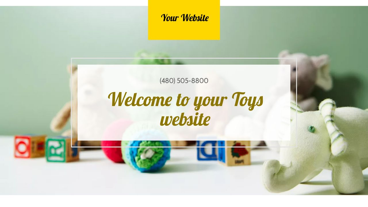 Toys Website: Example 4