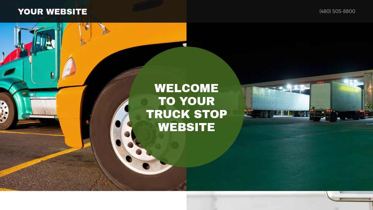 Truck Stop Website Templates | GoDaddy