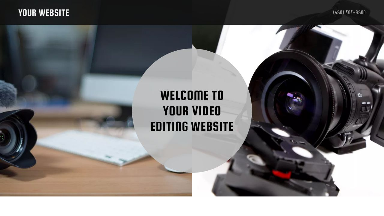 Video Editing Website: Example 1