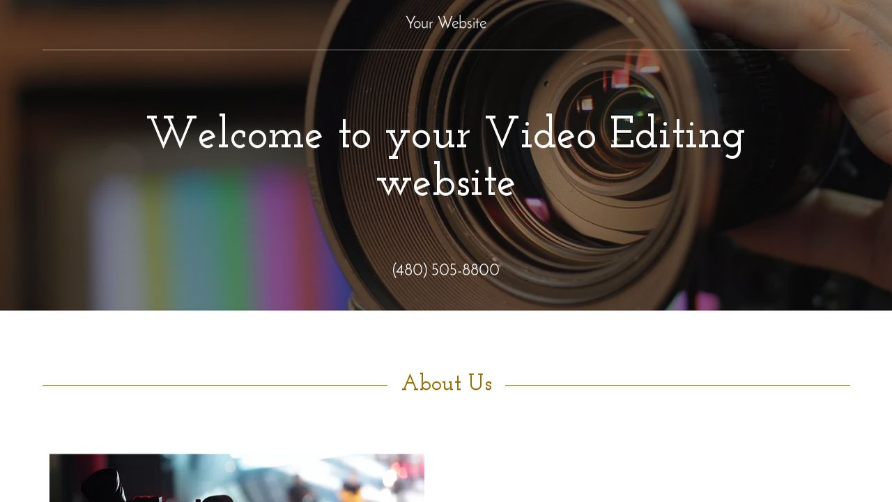 Video Editing Website: Example 18