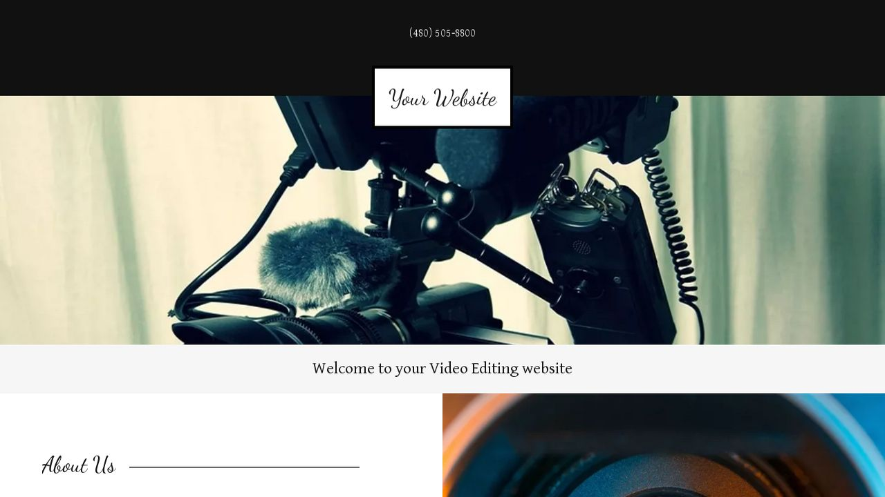 Video Editing Website: Example 5