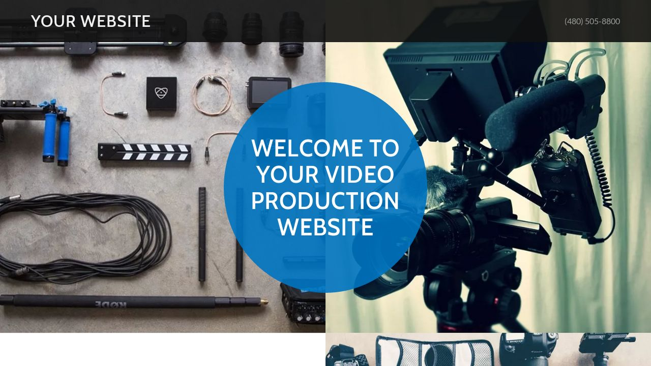 Video Production Website: Example 11