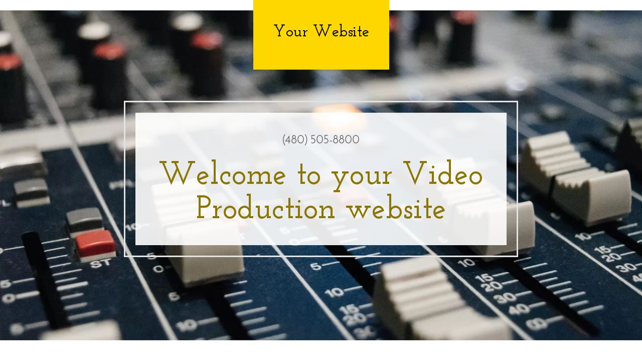 Video Production Website: Example 12