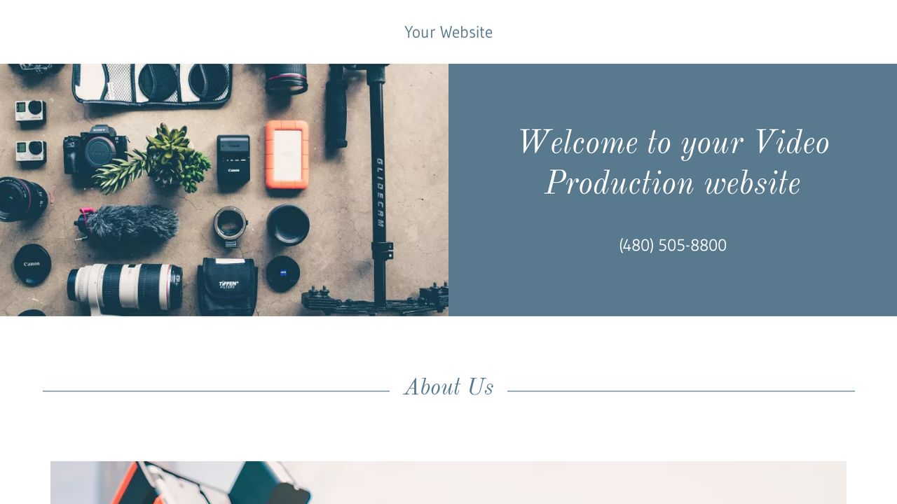 Video Production Website: Example 17
