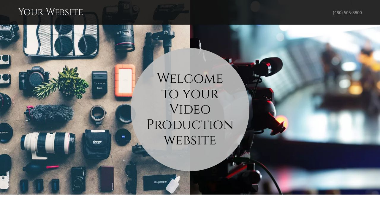 Video Production Website: Example 4