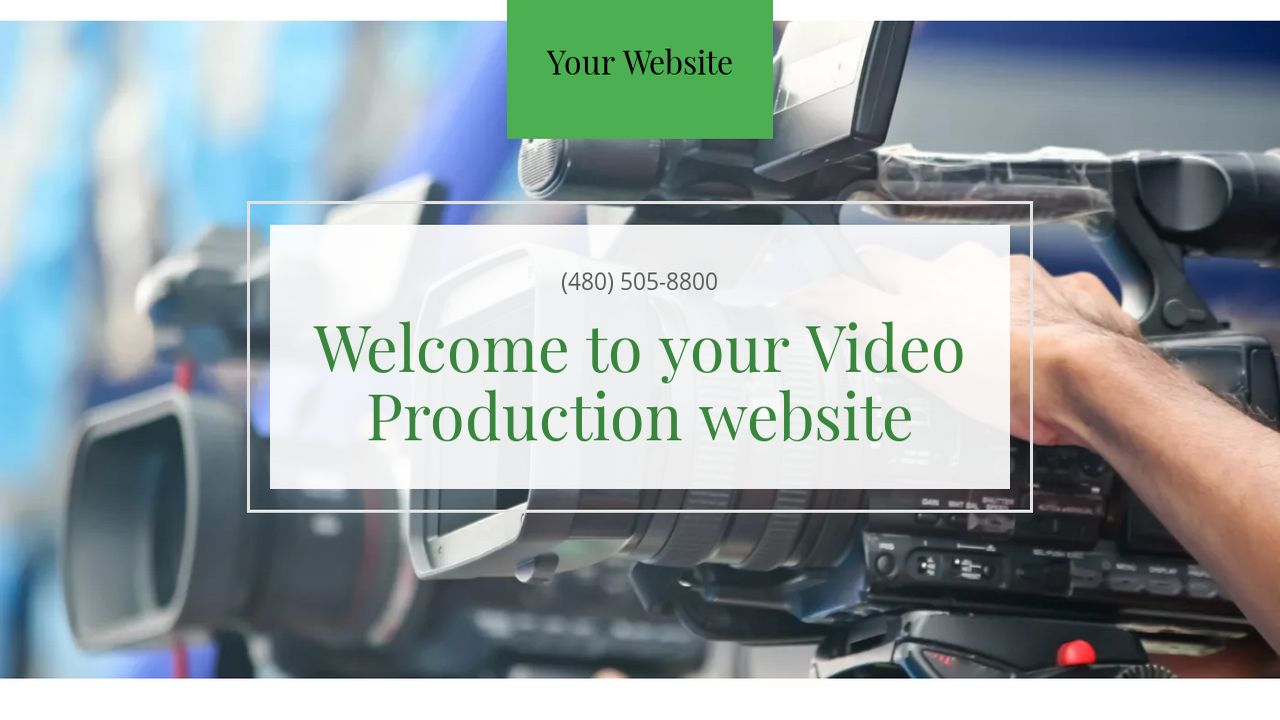 Video Production Website: Example 5