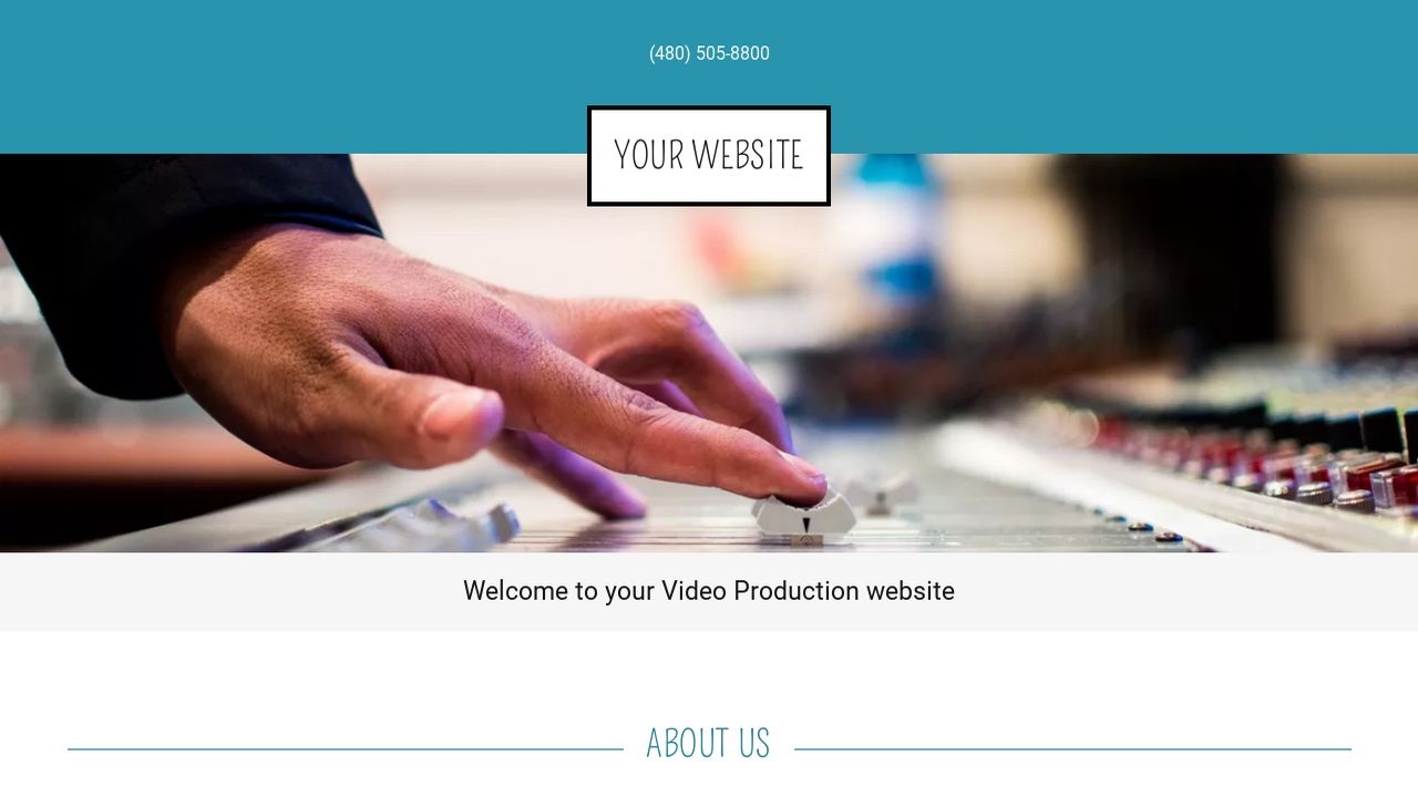 Video Production Website: Example 7