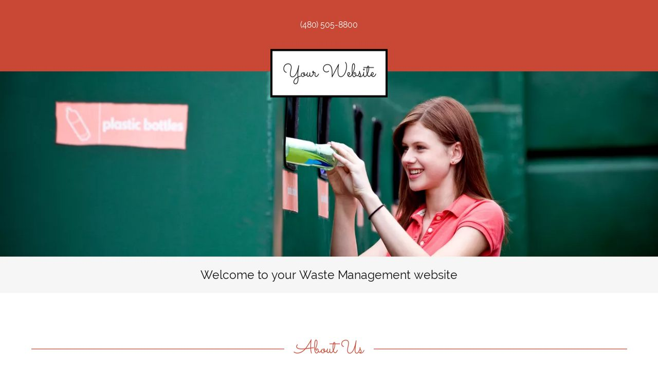 Waste Management Website Templates - GoDaddy