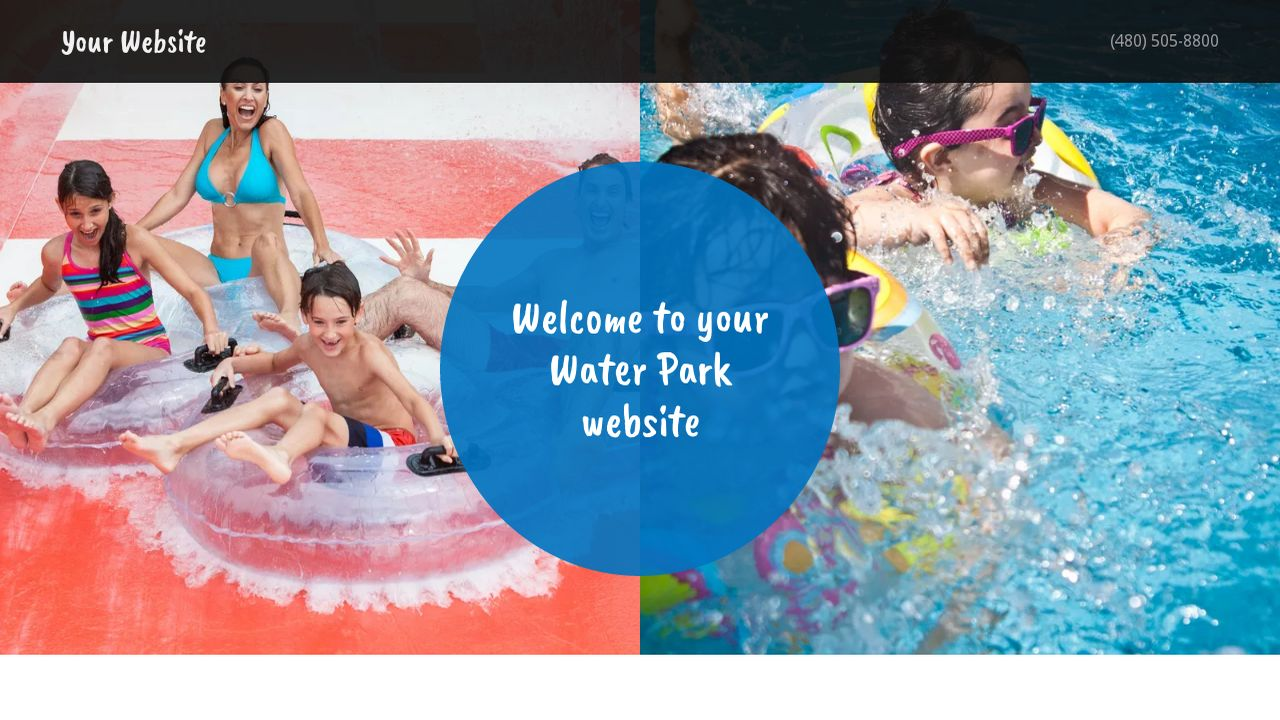 Water park website templates godaddy water park example 17 maxwellsz