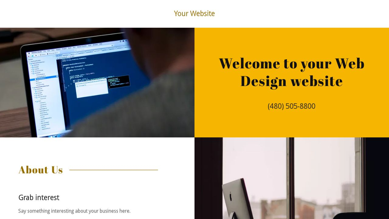 Web design website templates godaddy web design example 12 cheaphphosting Image collections