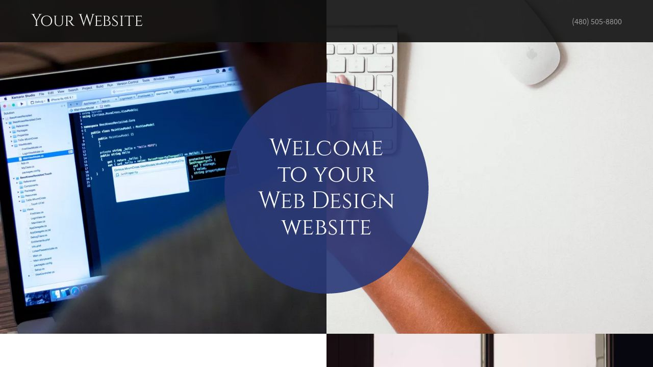 Web Design Website: Example 2