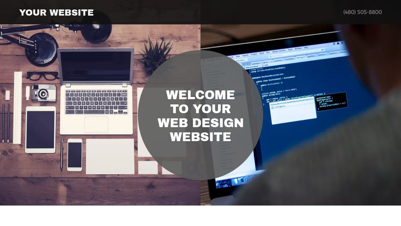 Web Design Website: Example 9