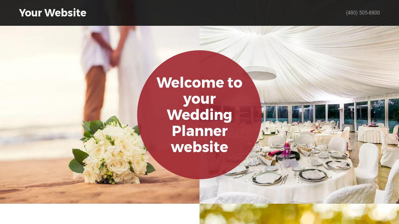 Wedding Planner Website Templates | GoDaddy