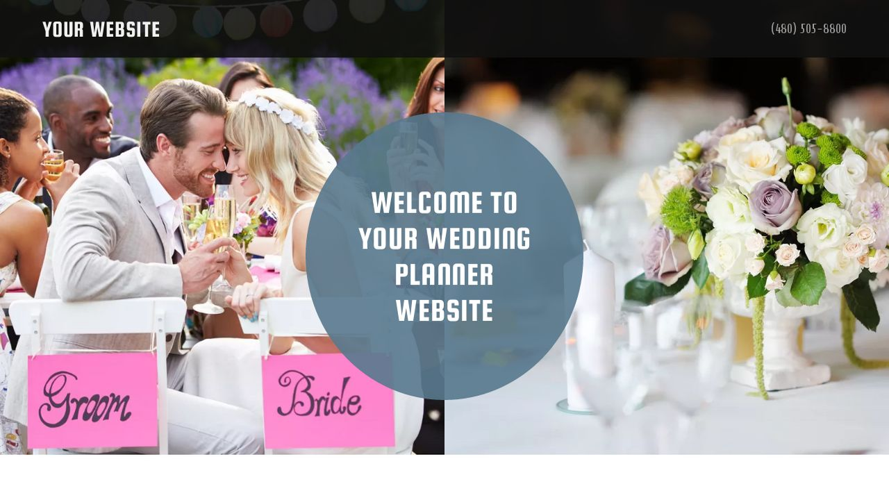 Wedding Planner Website: Example 15
