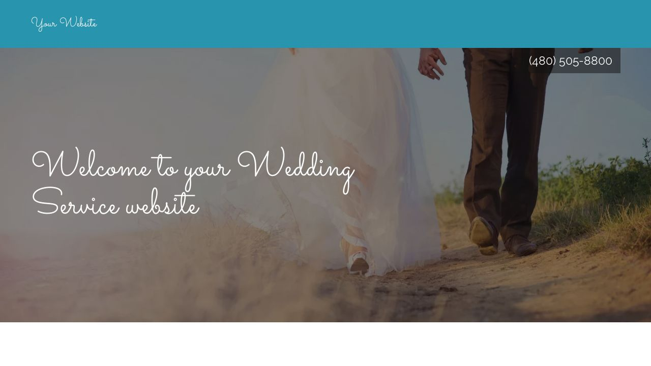 Wedding Service Website: Example 11