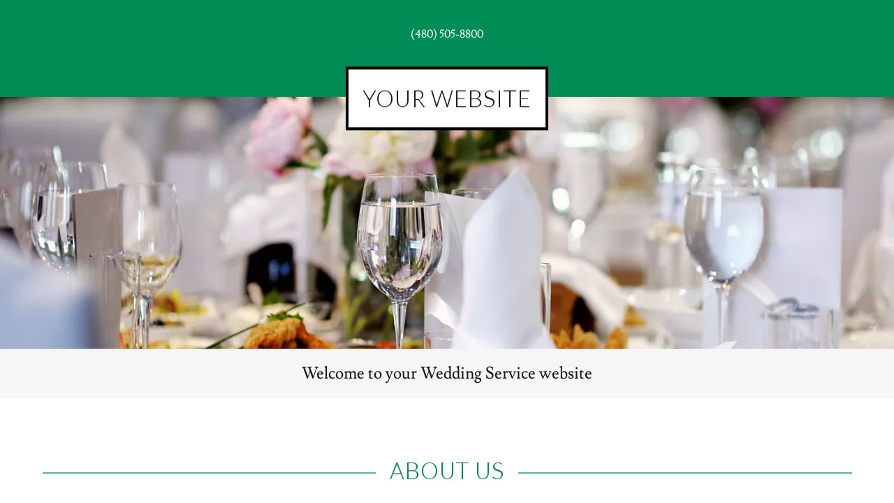 Wedding Service Website: Example 13