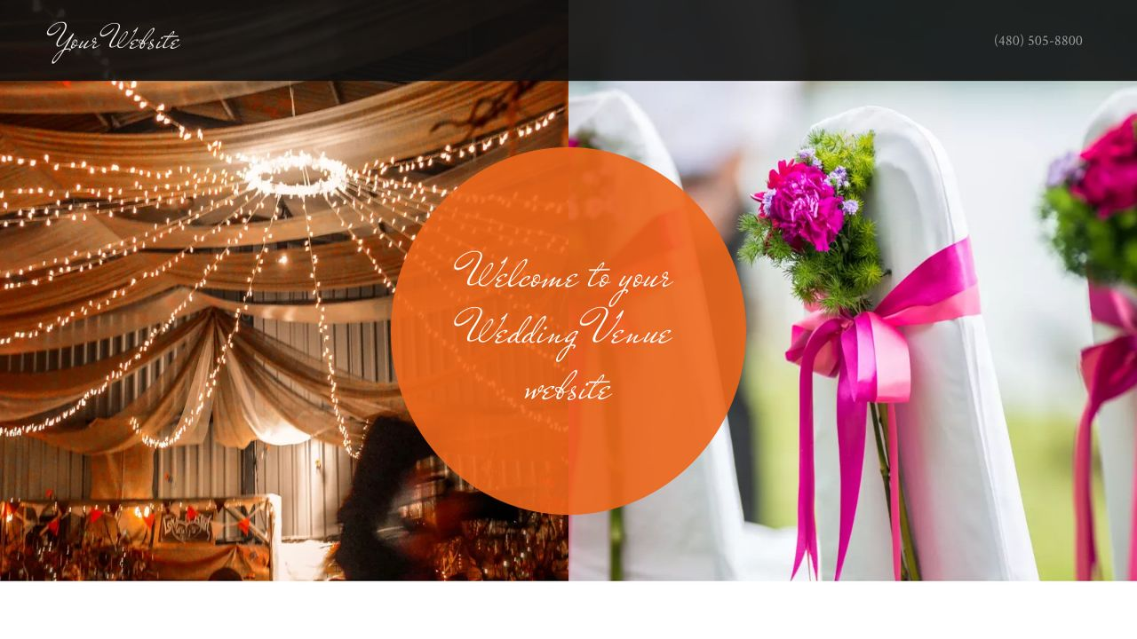 Wedding Venue Website: Example 8