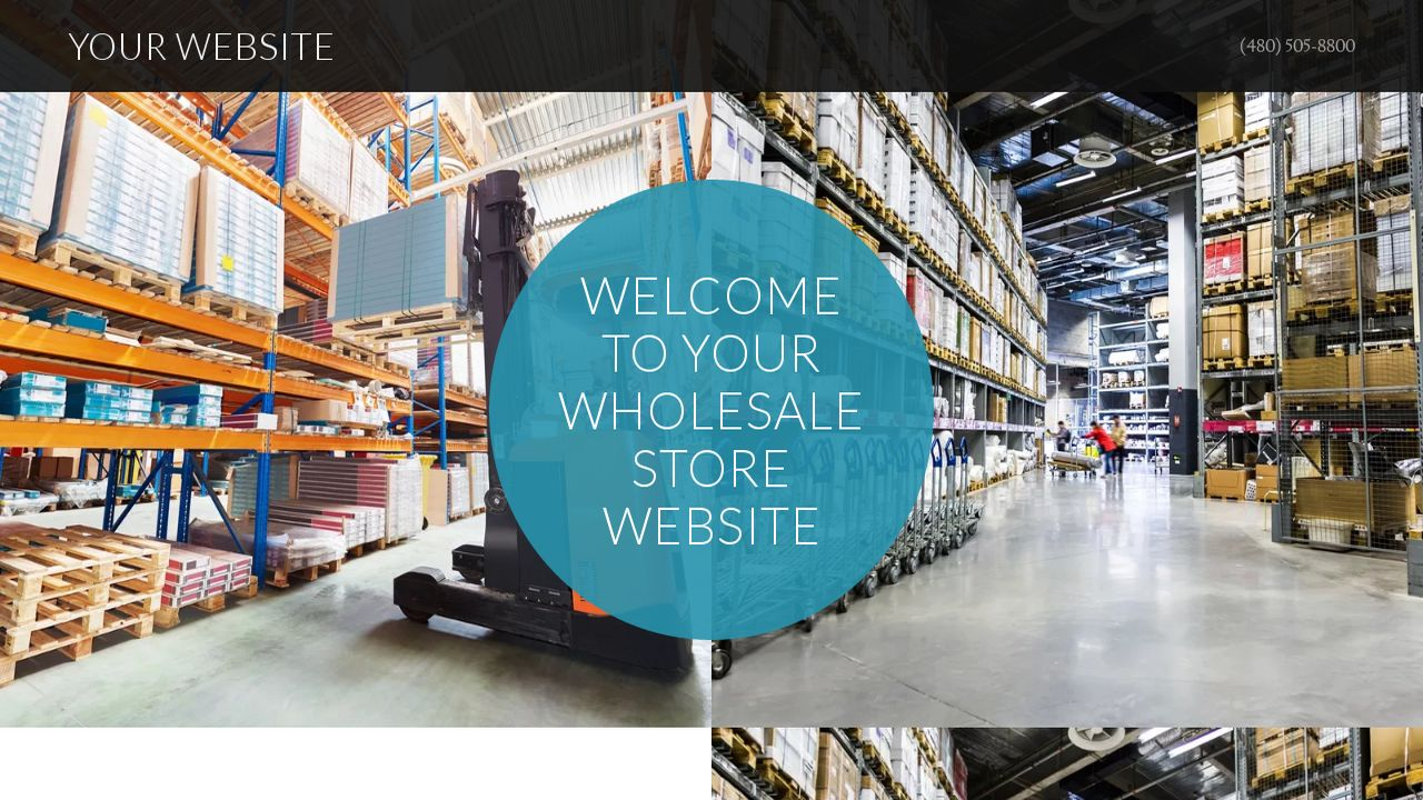 Wholesale Store Website: Example 17