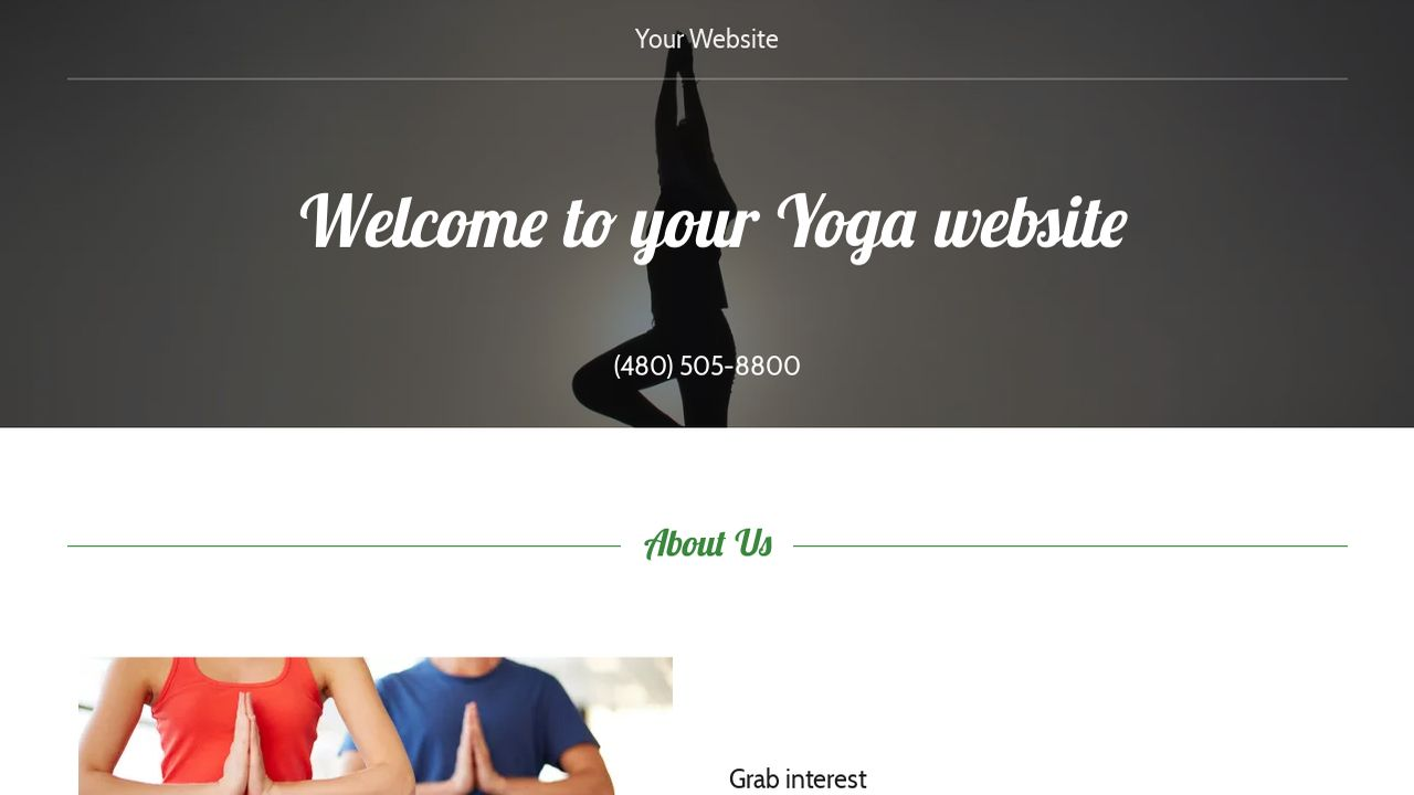 Gemütlich Yoga Website Vorlagen Fotos - Entry Level Resume Vorlagen ...
