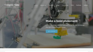 Lyrical 3D Printing and Services WordPress Theme