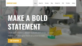 Stout 3D Printing and Services WordPress Theme