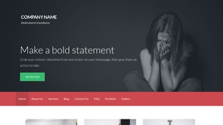 Activation Abuse and Addiction Treatment WordPress Theme