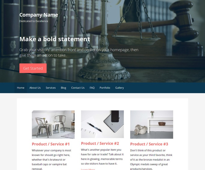 Primer Accident and Property Damage Lawyer WordPress Theme