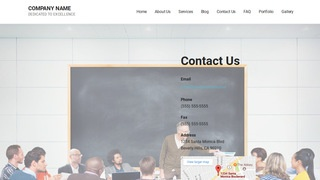 Mins Adult Education WordPress Theme