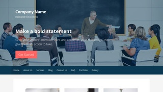Primer Adult Education WordPress Theme