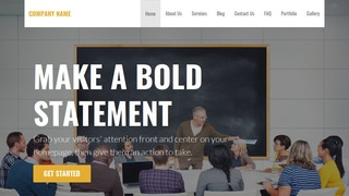Stout Adult Education WordPress Theme