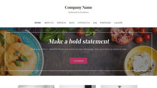 Uptown Style Afghan Restaurant WordPress Theme