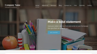 Lyrical After School Program WordPress Theme