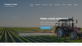 Lyrical Agricultural Service WordPress Theme