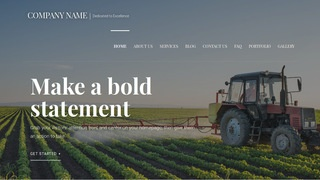 Velux Agricultural Service WordPress Theme