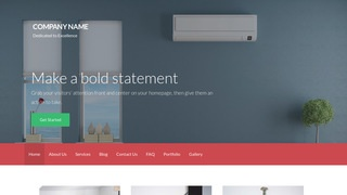 Activation HVAC WordPress Theme