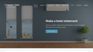 Lyrical HVAC WordPress Theme