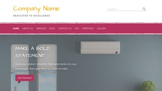 Scribbles HVAC WordPress Theme