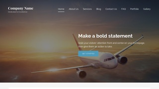 Lyrical Aircraft WordPress Theme