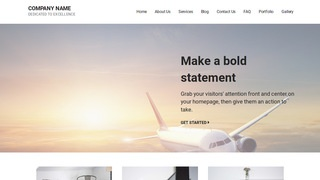Mins Aircraft WordPress Theme