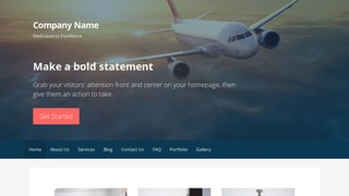 Primer Aircraft WordPress Theme