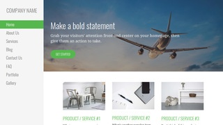 Escapade Aircraft Dealer WordPress Theme