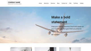 Mins Aircraft Dealer WordPress Theme