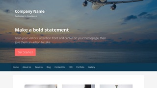 Primer Aircraft Dealer WordPress Theme