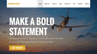Stout Aircraft Dealer WordPress Theme