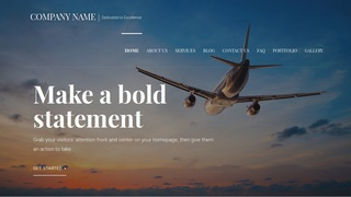 Velux Aircraft Dealer WordPress Theme