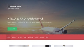 Activation Aircraft Parts and Supplies WordPress Theme
