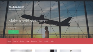Activation Aircraft Rentals WordPress Theme