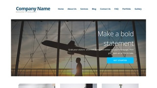 Ascension Aircraft Rentals WordPress Theme
